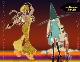 CDC: Day 28-29 Witches Dancer and Puppet master by iCassiekinz