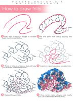 How To Draw Frills by wysoka