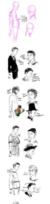 How to draw Tobias Menzies by AalienoOr