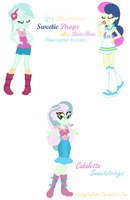 Lyra Heartstrings and Bon-Bon Fusion by PrettyCelestia