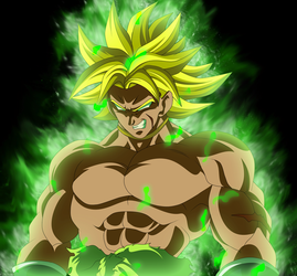 BROLY 2018 by AlejandroDBS