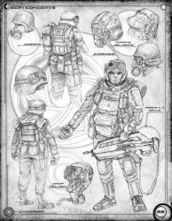 Space Marine Concepts and equipment: Page 26 by Stormcrow135