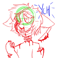 YCH pastel gore [3/5 OPEN] by H-E-C-K