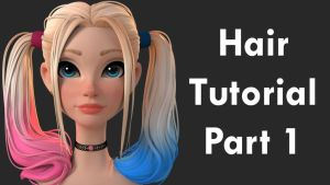 Zbrush Hair Tutorial by mccabie86