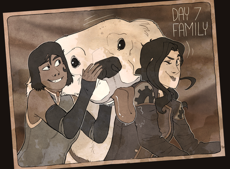 Korrasami Week 2017 - Day 7: Family by Phi8