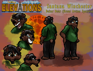 Elevations Sheet: Santana Winchester by MikeFolf
