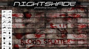 Nightshade splatter brushes by Niteshader