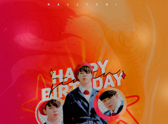 +HAPPY BIRTHDAY JIMIN by Hallyumi