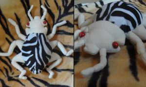 Mini Zebra bug by iamwinterborn