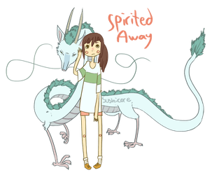 spirited away by IAMTHESTRANGE