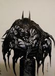 Batman by LOGANNINEFINGERS