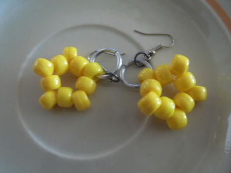 Kandi Star Earrings - Pair 2 by jenneilicious