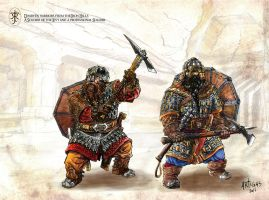 Dwarf Tunnel Fighters by Artigas