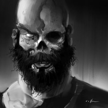 Undead portrait 03 by zano