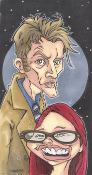 DOCTOR WHO : HIM AND ME by leagueof1