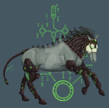 Allods Online - Arisen Horse by OhriK