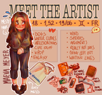MEET THE ARTIST by AliciaNina