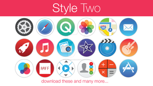 Stock Icons Style Two by hamzasaleem