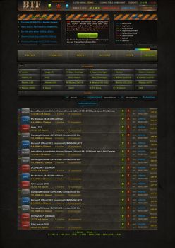 Torrent Site Design by Razor99