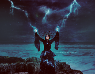 Storm witch by HayleyGuinevere
