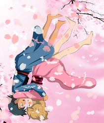 blossom amourshipping by hikariangelove