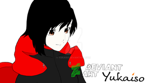 FanART Color: Ruby Rose from RWBY by Yukaiso