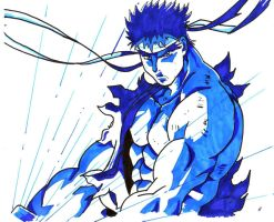 ryu hadoken charge by trunks24