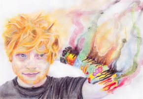 Ed Sheeran by ScrawlTheatre