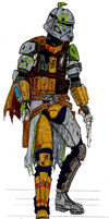 undercover ARC trooper Sergeant, phase 2 by halonut117