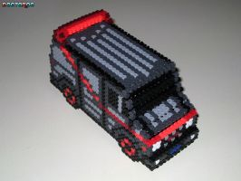 A-Team Van 3-D Bead Sprite by DrOctoroc