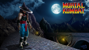 MK Tribute - Kung Lao the Fighting Monk by Hyde209