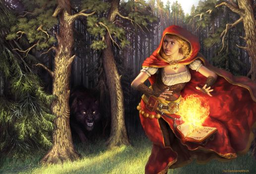 Red riding hood by ComporreWhich