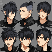 Noct Hairstyles by Bev-Nap