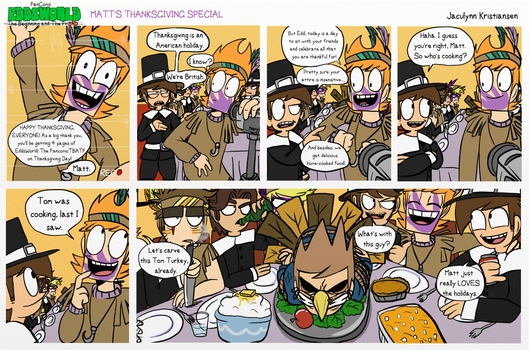 Happy ThanksGiving! by Eddsworld-tbatf