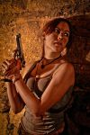 Lara Croft REBORN cosplay - ambush by TanyaCroft