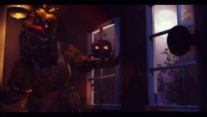 The Nightmare on the Right [REDO] (fnaf sfm) by JR2417