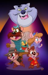 Rescue Rangers! by toonbaboon