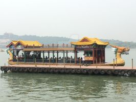 Kunming Lake Boat Ride by CanadaCowboy