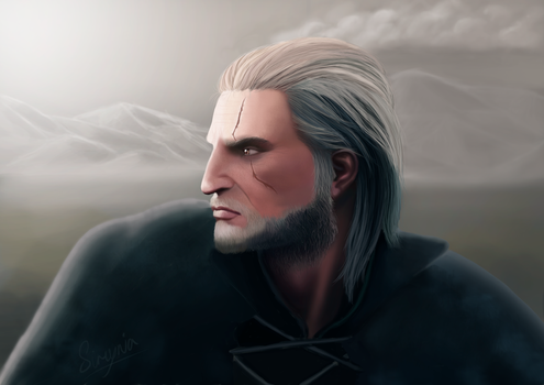 Geralt of Rivia by StendorfDesign