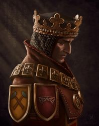 King Foltest of Temeria by Servia-D