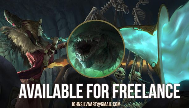 Available for freelance 2 by JohnSilva