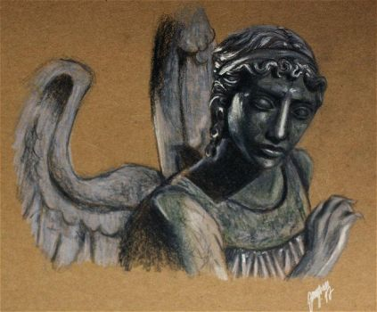 Weeping angel by Jangsara