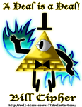 [Gravity Falls] Bill Cipher - A Deal is a Deal! by Evil-Black-Sparx-77
