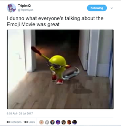 I watched the emoji movie by DelightfulDiamond7