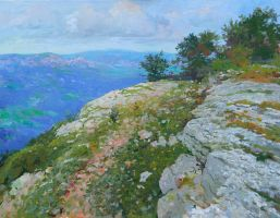 A View from the Mountain Boika by DChernov