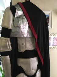 Captain Phasma Full Costume With Cape by j0wey