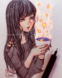 Starred Coffee~ by Qinni