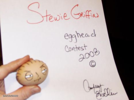 Egghead contest 2008_Stewie by GenerationGwilly