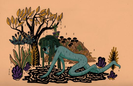 Rain and Plants by What-Even