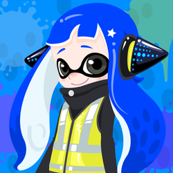 My Inkling in the hero replicas! by Elite-Octoling
